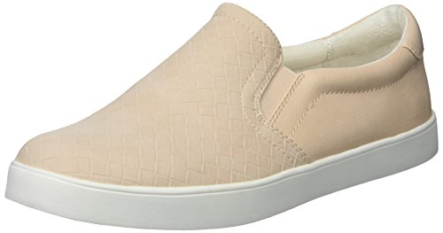 Dr. Scholl's Shoes Women's Madison Fashion Sneaker, Blush Woven Print