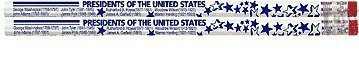 D1520 Presidents of the United States - 36 History Pencils