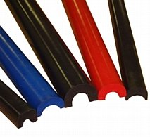 BSCI 78001 Black SFI 45.1 Roll Bar Padding(Low Profile) Fits 1.5''-2'' Bar Diameter