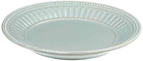 Lenox French Perle Everything Plate, Ice (Lenox Blue Plate)