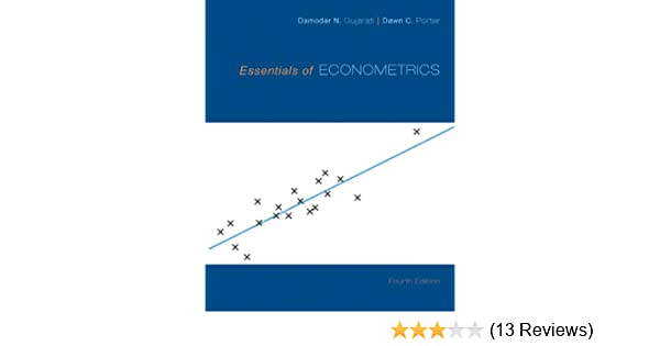 Amazon Com Essentials Of Econometrics Ebook Damodar N Gujarati