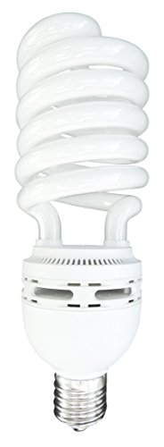 Luxrite LR20230 (6-Pack) 105-Watt High Wattage CFL Spiral Light Bulb, Equivalent To 400W Incandescent, Daylight 6500K, 6000 Lumens, E39 Mogul Base by LUXRITE (Image #2)