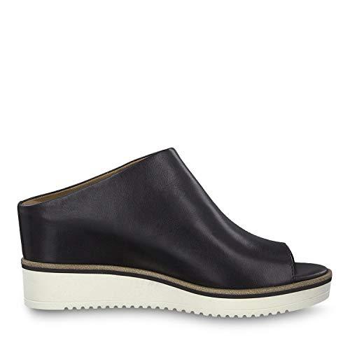3 1 1 black Nero 003 Donna Tamaris Ciabatte 27200 22 Leather vCwxpqUOp