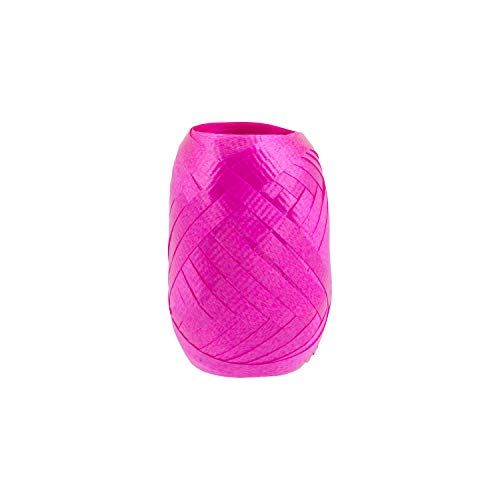 (Berwick Offray Splendorette 3/16'' Wide Crimped Curling Ribbon,  Hot Pink, 5.5' L)