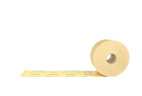 Sunmight 06111 1 Pack 2-3/4'' X 45 yd PSA Sheet Roll (Gold Grit 220) by Sunmight (Image #1)