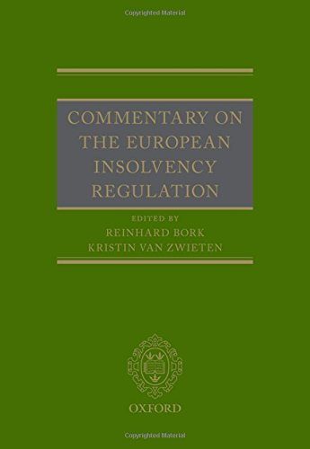 Commentary on the European Insolvency Regulation (The Oxford Handbook Of The European Union)