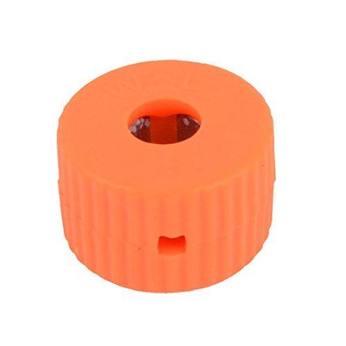 Carcasa de plástico de color naranja 5 mm Diámetro del orificio de ...