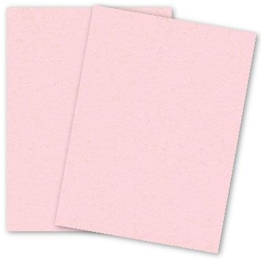 PaperPapers Light Pink Lemonade 8.5X11 Everyday 28lb Printer Friendly Paper - 50 sheets per pack - Flyers - Mailers - Brochures - DIY Projects - Everyday Use Paper - Pink Vellum Paper