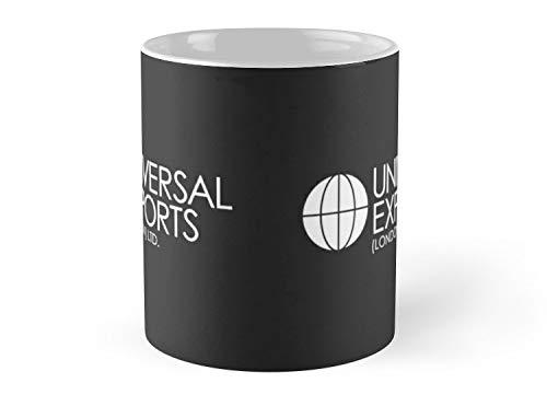 Bond Saucer Coffee (Blade South Mug - James Bond - Universal Exports (London) Ltd Mug - 11oz Mug - Features wraparound prints - Best gift for family friends)