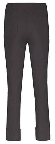 Pantalón Recto Mujer Negro Para Robell Rnwdq8YgR