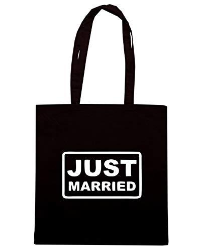 Nera JUST FRAMED MARRIED Shopper Shirt Speed Borsa MAT0044 xOwSqUgtX