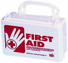 Mutual 50001 10 Person Weatherproof First Aid Kit