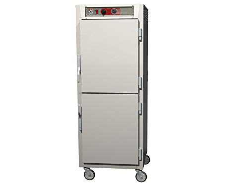 - Metro C569-SDS-U C5 6 Series Reach-in Heated Holding Cabinet, Full Height, Stainless Steel, Dutch Solid Doors, Universal Wire Slides