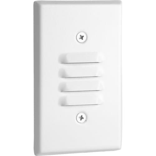 Progress Lighting P660003-028-30K Indoor Step Light, White - Recessed Vertical Step Light