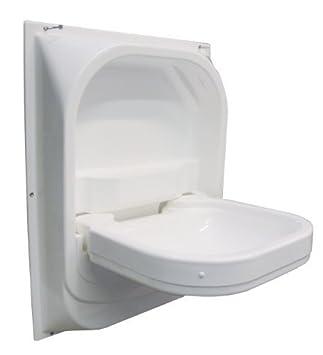 Caravan Campervan Perfect Size Tip Up Drop Down Bathroom Sink