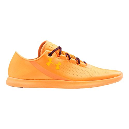 Under Armour UA W SpeedForm StudioLux Damen Hallenschuhe Orange (CBO 831)