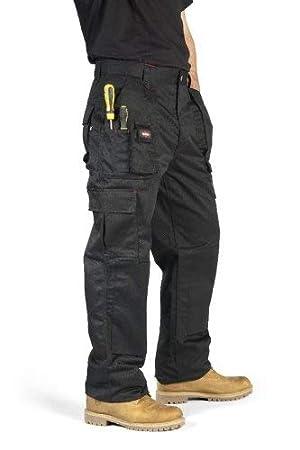 Lee Cooper Cargo Pantalon pour homme - Noir -30W 29S  Amazon.fr ... c8ac9ff8530