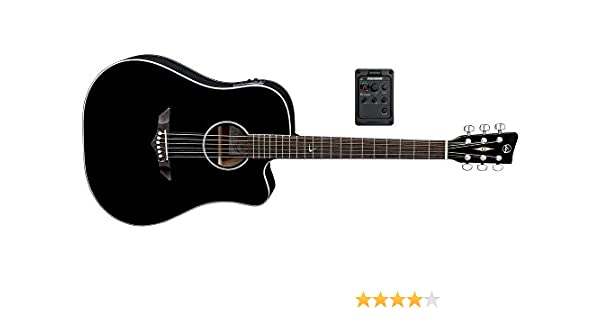 VGS RT-10 CE Root - Guitarra acústica, color negro: Amazon.es: Instrumentos musicales