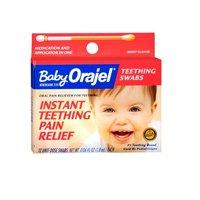 Bébé Orajel bébé Orajel instantanée Teething Pain Relief écouvillons Berry Flavor, Berry Flavor 12 ct (Pack de 3)