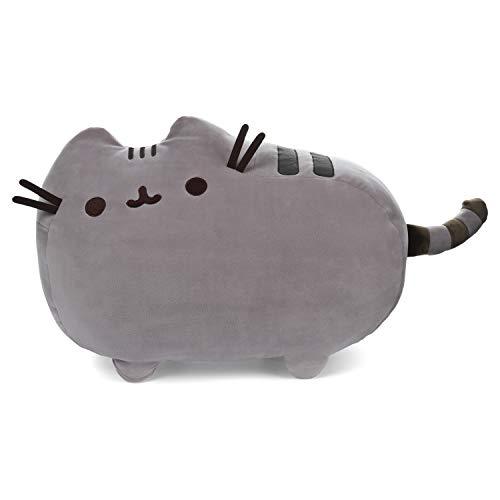 """GUND Pusheen Squisheen Squishy Stuffed Animal Cat Plush, Gray, 20"""""""