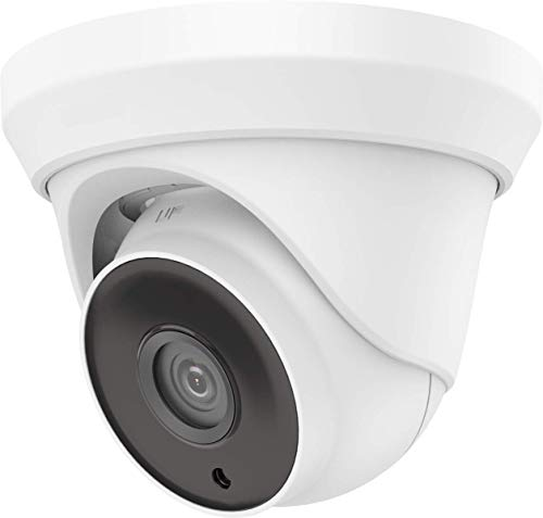 HDView TVI CVI AHD 960H CVBS Security Camera Indoor Outdoor EXIR Infrared Night Vision, for Home CCTV Surveillance 3-Axis 1080P Matrix IR Turbo Dome Camera OEM DS-2CE56D0T-IT3F (No Logo)