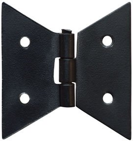 Black Iron Metal Art Deco Butterfly Cabinet Door Hinges Country Primitive Home Décor  sc 1 st  Amazon.com & Black Iron Metal Art Deco Butterfly Cabinet Door Hinges Country ...