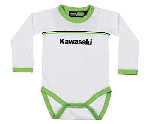 Kawasaki Deportivo Mameluco Blanco: Amazon.es: Ropa y accesorios