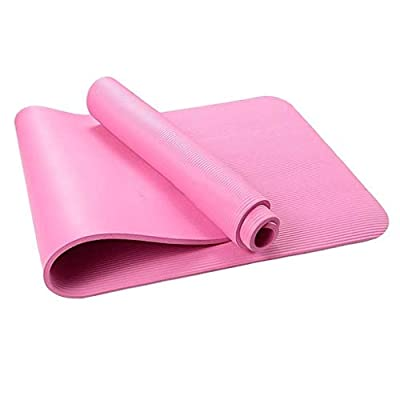 Amlaiworld 4MM Thick Durable Yoga Mat Non-Slip Exercise Fitness Pad Mat Home Work Out Equipments (Pink): Clothing