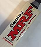 MRF Genius Limited Edition English Willow Cricket Bat-Short Handle