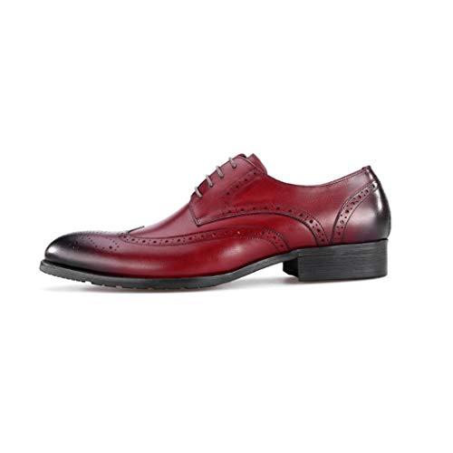 Hombres Vintage Broche Flysxp Los Red Botas 44 Hombre Para Negro color De Zapatos Cuero Gamuza Casuales Británica Tamaño Tendencia 5qwrdOwf