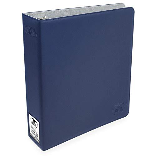 Dark Blue Ultimate Guard XenoSkin Supreme Collectors Album 9 Pocket Card 3 Ring Storage Binder