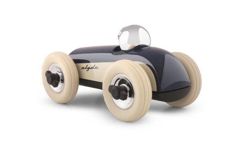 Playforever Clyde Midi 2 Race Car Color: Navy/White -