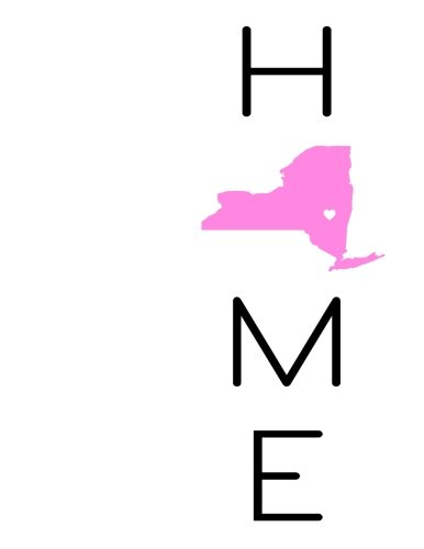 Home: New York State Pride, Yearly Journal, Notebook, Diary, 365 Lined Pages, Birthday, Friendship, Christmas, New York Gifts for Men and Women, 8 1/2'' x 11'' by CreateSpace Independent Publishing Platform