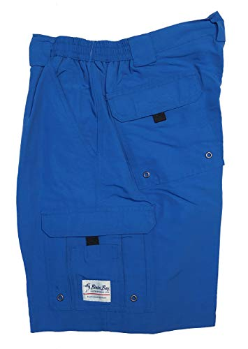 Bimini Bay Outfitters Men's Boca Grande II with BloodGuard Nylon Short (Ocean, 42)