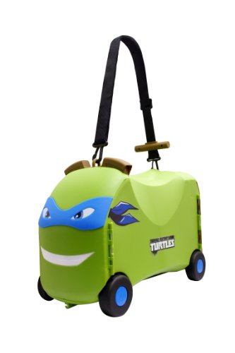 Ride-On Toy Storage Case - Teenage Mutant Ninja Turtles Toy Box and Ride Along Toy