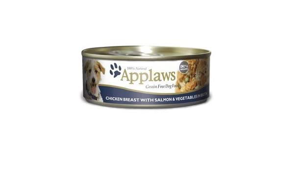 Amazon.com: Applaws Chicken Salmon Canned Dog Food 5.5 oz 24 Case: Pet Supplies