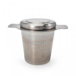 Danesco Tea Infuser - Stainless Steel - 5 Tbsp - w/Lid