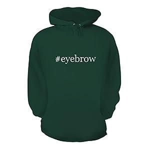 #eyebrow - A Nice Hashtag Men's Hoodie Hooded Sweatshirt, Forest, Large