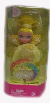Baribe Fairytopia Magic of the Rainbow Yellow Tooth Fairy Doll