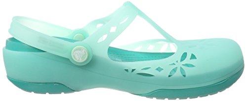 Crocs Women's Isabella Clogs Green (New Mint/Tropical Teal) VTuEVK