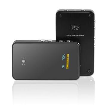 FiiO E7 - Amplificador de auriculares portátil (digital to analógico): Amazon.es: Electrónica