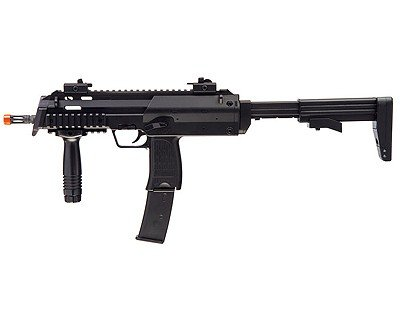 umarex 2279040 hecker and koch mp7 aeg airsoft air gun pistol, black matte finish(Airsoft - Tokyo Marui Mp5