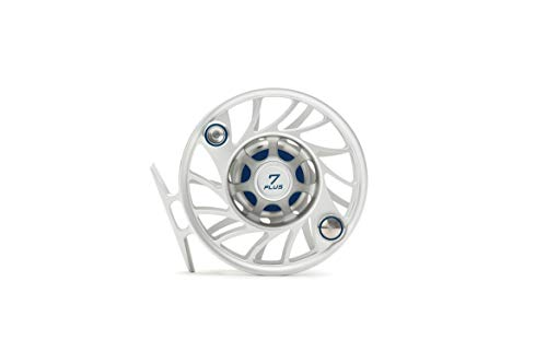 Hatch 7 Plus Gen 2 Finatic Fly Reel, Clear/Blue, Mid Arbor