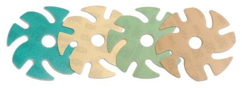 Jooltool 3M 4-Piece Microfinishing Abrasive Disc Kit, Dia...
