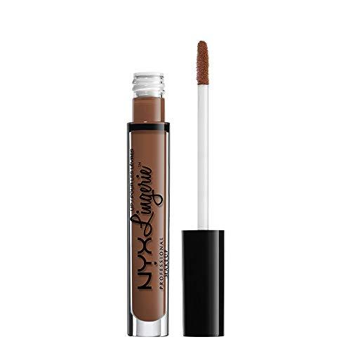 NYX PROFESSIONAL MAKEUP Lip Lingerie Matte Liquid Lipstick, Beauty Mark