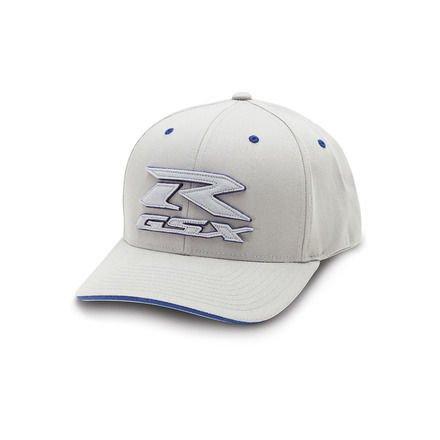 SUZUKI OEM GSXR GRAY HAT FLEXFIT, L/XL 990A0-17133