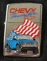 Chevy Thunder - Chevy Thunder Zippo Lighter