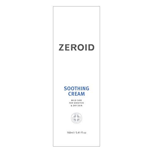 ZEROID Soothing Cream Mild Care for Senstive & Dry Skin (160 mL)