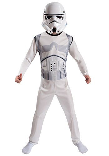 Homemade Disney Costumes (childrens stormtrooper costume 2 piece mask and jump suit disney star wars fits sizes 8-10)