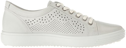 Shadow Women's Sneaker Perforated ECCO White 7 Trend Soft OZIawg7q